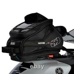 Oxford Q4r Motorcycle Tank Sac Lifetime Quick Release Motorcycle Luggage Black