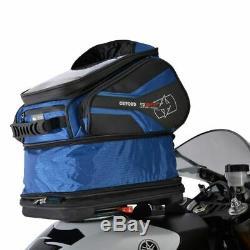 Oxford Quick Release Q30r Motorcycle Bag Réservoir Moto Bleu Nouveau 30l Sacoche De Réservoir
