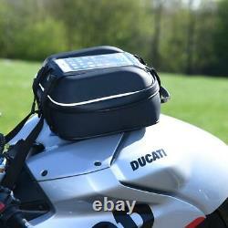 Oxford S-series Q4s Imperméable À L'eau Rapide Version Moto Moto Tank Bag Noir