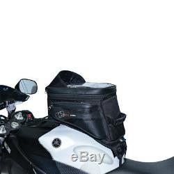 Oxford S20r Noir Moto Moto Légère Aventure Sangle Sac De Réservoir