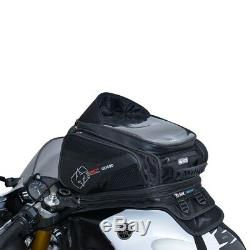 Oxford S30r 30 Litres Coincé Sac De Moto De Réservoir Bagages Noir Ol345