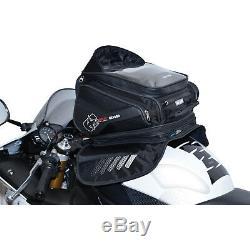Oxford S30r Strap-on Sac De Réservoir De Moto Moto 30l Noir Sat-nav Carte Titulaire