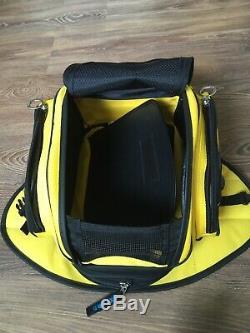 Oxford Sac De Moto Réservoir Bagages Magnétique Extensible Jaune