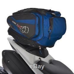 Oxford T30r 30 Litres Moto Bagages Tail Pack Et Sac À Dos Bleu Ol337