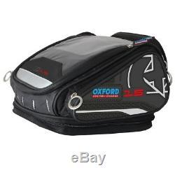 Oxford X15 Qr Réservoir Sac À Vie Noire De Moto Bagages 15l Ol226