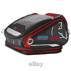 Oxford X15 Qr Tankbag Valise De Moto Rouge À Vie 15l Ol227
