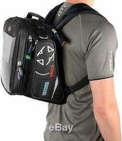 Oxford X20 Chaussez Sac De Moto Réservoir Style Aventure Noir Bagages Ol230