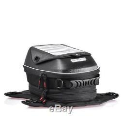 Pour Le Sac De Réservoir De Moto De Suzuki Le Réservoir De Carburant D'huile Magnétique Met En Sac Le Sac Imperméable Noir