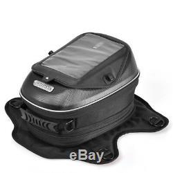 Pour Moto Triumph Sac Réservoir D'huile Magnétique Sacs Réservoir De Carburant Étanche Sac Noir