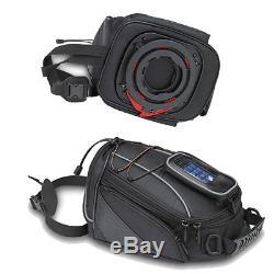 Ra309 Kappa Sacoche De Réservoir De Moto / Moto Tanklock 10l Avec Support De Téléphone / Gps
