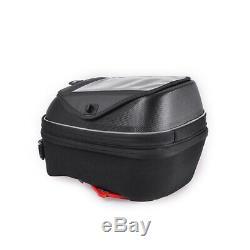 Réservoir 23l Noir Sac De Moto De Carburant Shell Dur Épaule Sac À Dos Accessoires