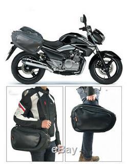 Réservoir De Casque De Bagage De Sacs De Selle De Moto De 36-58l 6kg Avec La Couverture Et La Couverture Imperméable