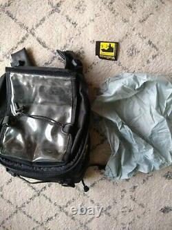 Revzilla Wolfman Sac De Moto Blackhawk Tank Bagage Avec Couverture De Pluie! Pristine
