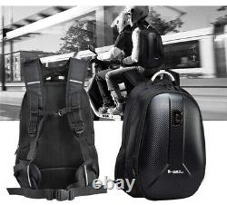Sac À Dos De Moto Sac De Réservoir Carbon Fiber Color Sac À Bagages Pour Casque De Moto