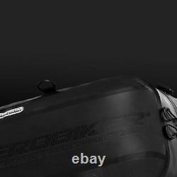Sac À Dos Moto Étanche Sac De Moto Bagage Moto Tank Sac Racing Noir