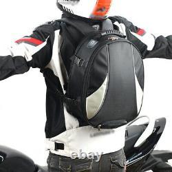 Sac À Queue De Moto Multifonctions Siège Arrière Sac À Réservoir De Carburant Étanche À L'eau