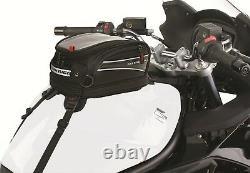 Sac De Mini-tank De Fixation Universelle De Moto Avec Poche D'écran Gps Tactile De Cellule