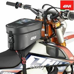 Sac De Réservoir Givi Imperméable Imperméable Avec Ceintures De Moto Enduro Atv Nu
