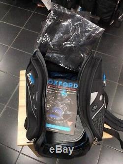 Sac De Réservoir Oxford Hump Back Avec Valise Magnétique Pour Moto / Moto À Base Magnétique