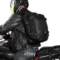 Sac De Réservoir Universel De Carburant De Moto 3pcs Sac D'épaule De L'extérieur Bagage De Siège Arrière
