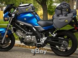 Sac De Réservoir Wolfman Skyline Avec Sacoches De Moto Imperméables (bmw Ktm Honda)
