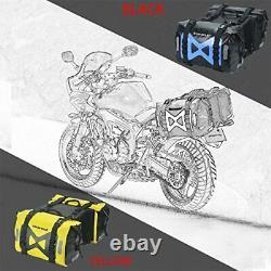 Sac De Selle De Moto Étanche 50l Sac De Réservoir Motor Sac Latéral