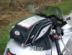Sac Moto Koji Ducati Universal 2 Sacoche De Réservoir + Sac À L'arrière Italien