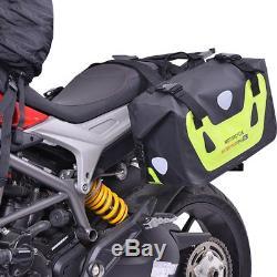Sacoche Arrière Pour Moto Réservoir Bagages Sac À Dos De Voyage Étanche Pour Moto Saddlebag