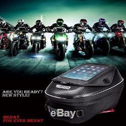Sacoche De Réservoir D'essence Pour Moto Sac Étanche Pour Kawasaki Z750 Z800 Versys 1000