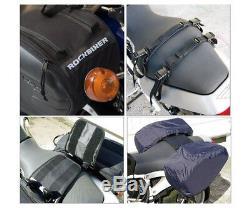 Sacoche De Réservoir De Casque De Sacoches De Moto Avec Surface Recouverte De Pluie En Fibre De Carbone