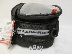 Sacoche De Réservoir De Route Street Pour Moto Nelson Rigg Cl-2014 Journey Mini À Bracelet Magnétique