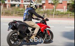 Sacoche De Réservoir + Housse De Pluie Pour Sacoches De Moto Grande Capacité
