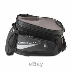 Sacoche De Réservoir Moto Givi Easy Lock Silver Range (t480)