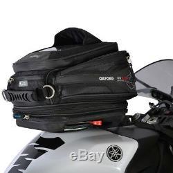 Sacoche De Réservoir Oxford Q15r Noir Sacoches De Moto / Moto Ol216
