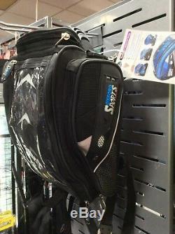 Sacoche De Réservoir / Sac À Dos Oxford Hump Back Bagage Moto / Moto + Base Magnétique
