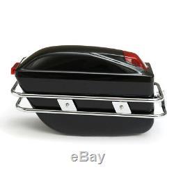 Sacoche De Réservoir Sacoche Pour Valise Moto Boites De Rangement Universelles Sacoches Rigides Cruiser