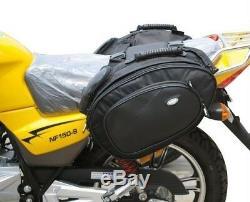 Sacoche De Selle Arrière Imperméable Oxford Pack De Réservoir Moto