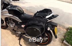 Sacoches De Moto Bagagerie Sacoches Réservoir Casque Imperméable Sacs 36-58l Noir