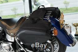 Sacs De Moto Casque De Selle Réservoir Étanche Pannier Grande Capacité 36-58l 6kg
