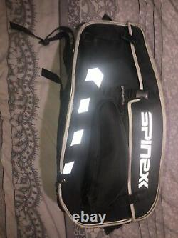 Spinexx Large Motorcycle Luggage Panniers & Tank Bag With Wheels & Rain Covers