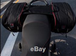 Stockage De Réservoir De Casque De Sacoche De Bagage De Sacoches De Moto Durable De Moto Avec La Couverture De Pluie