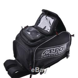 Support De Téléphone Imperméable De Sac De Réservoir De Carburant D'huile De Moto 57l Magnétique
