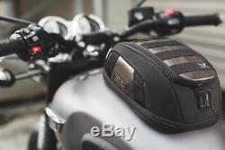 Sw Sacoche De Réservoir Moto Motech Legend Lt1 Noir / Marron