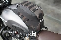 Sw Sacoche De Réservoir Moto Motech Legend Lt2 Noir / Marron