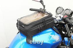Tanax Motofizz Motorcycle Tank Sac De Grande Taille / Clear Top / Smartphone Map