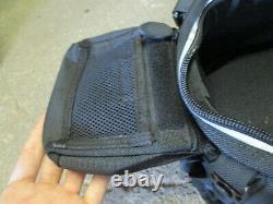 Tour Master Cortech Tank Bag Back Pack Expanding Motorcycle Bagage