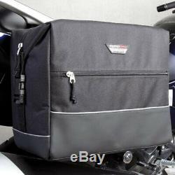 Touring Motodry Aventure Moto Bagages Zxs-2 Sacs Noir Selle Paire