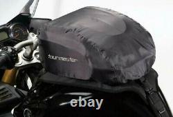 Tourmaster Select Motorcycle Tankbag, Strapon Tank Bag, Black MC Luggage, 14l