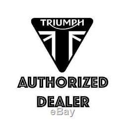 Triumph Motorcycles A9518089 Kit De Sacoche De Réservoir En Coton Ciré Olive