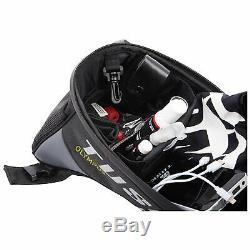 Tusk Olympus Sac De Moto Grand Réservoir Noir / Gris 8 Litres